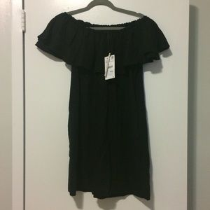 NWT Zara Off the Shoulder Dress